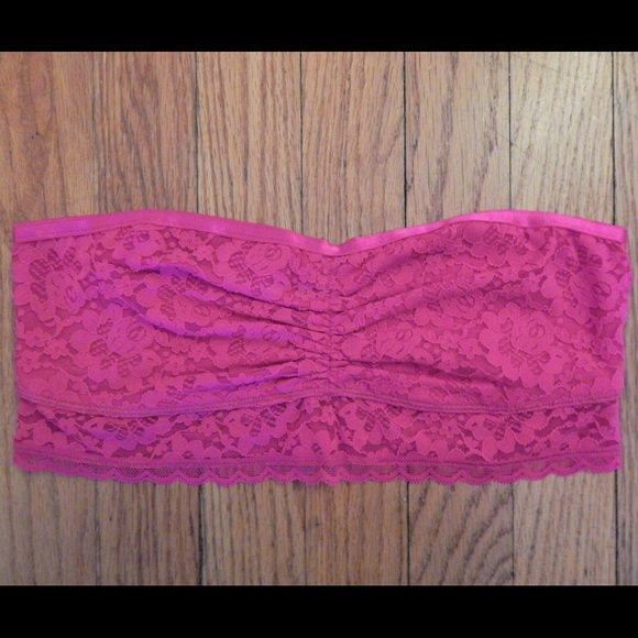 aerie Other - Aerie Pink Lace Bandeau Sz M
