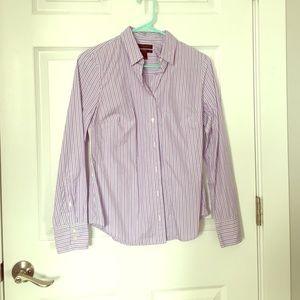 J. Crew Perfect button up dress shirt, size 2