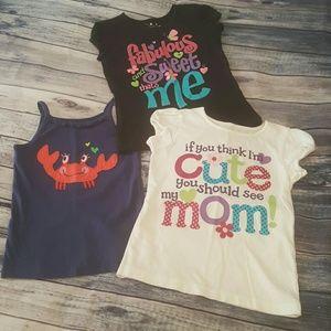 Jumping Bean Other - Girls Summer shirts, size 6