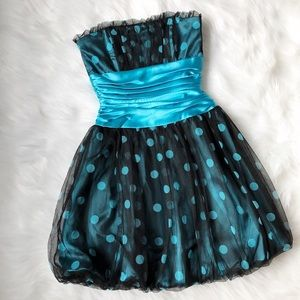 Jessica McClintock Dresses & Skirts - Jessica McClintock Polka Dot Dress