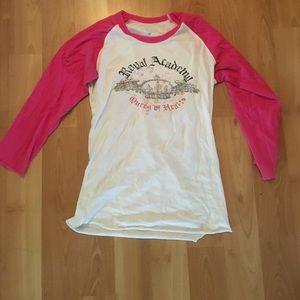 blu chic Tops - Pink & white soft baseball T