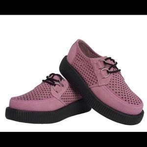 Perforated Suede Creepers