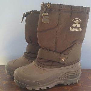 Kamik Other - Kamik boys black size 7 boots
