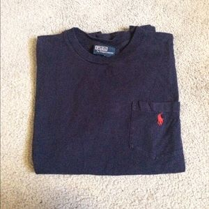 Polo by Ralph Lauren Other - Polo Navy Blue Pocket Tee - S