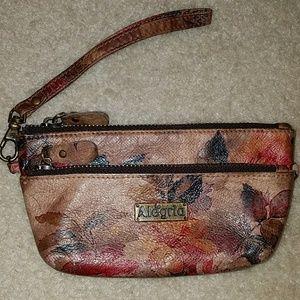 Allegri Handbags - ALEGRIA Wristlet Leather