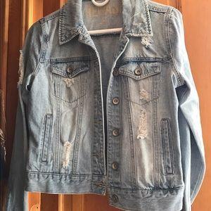 Rewash Jackets & Blazers - Distressed denim jacket