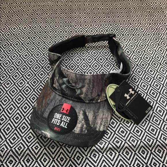 🆕Under Armour Camouflage Camo Visor Hat 4ed6367f83d3