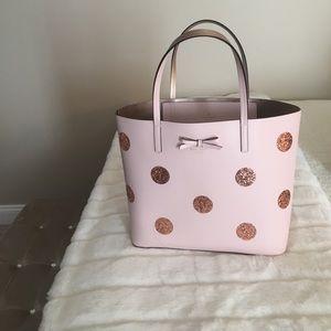 kate spade Handbags - Kate spade glitter tote worn once
