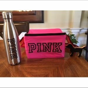 NWT Victoria's Secret Cooler and Water Bottle