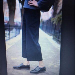 Barneys New York Pants - Barneys New York cropped black trousers