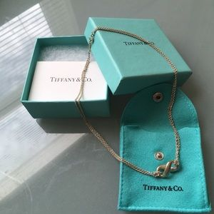 """Tiffany & Co. Infinity 16"""" chain, sterling silver"""