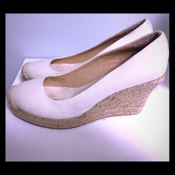 6163b32e5efc J. Crew Shoes - J. Crew cream Seville espadrilles 7.5 shoes wedges