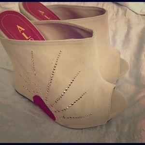 Alba Shoes - Rising sun  Asian ☀️ wedges