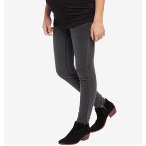 Motherhood maternity size small grey skinny jeans