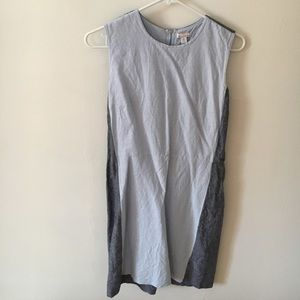 Gap cotton shift dress