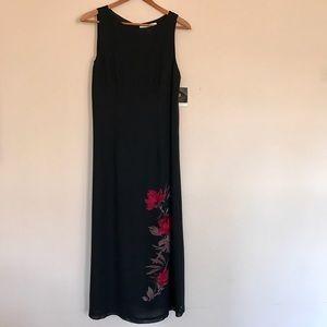 Valerie Stevens Dresses & Skirts - NWT Black Silk Long Dress