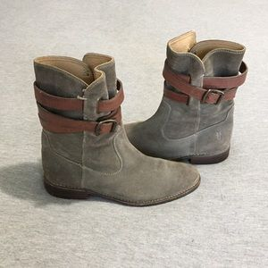 Frye Shoes - Frye Shirley Strappy Short Boot