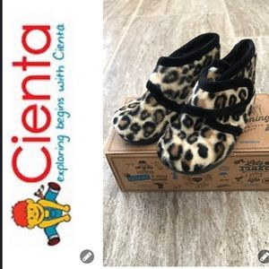 Cienta Other - NWT & NIB Cienta Animal Strap Bootie