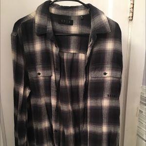 KR3W Other - KREW midnight ambush plaid shirt. Unworn