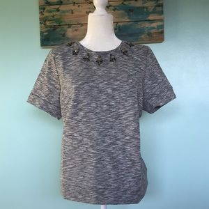 Loft Sweater Top with Embellishments - LP