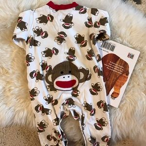 Baby Starters Other - 🆕 listing! Sock monkey jammies!