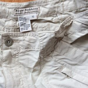 Royal Robbins Pants - Shorts!  Outdoor-travel wear! Size 12.