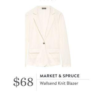 market & spruce Jackets & Blazers - NWT Stitch Fix Off White Blazer [Sz L]