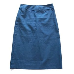 J. Crew Dresses & Skirts - J. Crew Dusty Blue Pencil Skirt Size 2