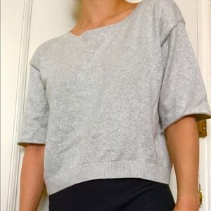 Tildon Sweaters - Cute silver Nordstrom  sweater.Make an offer!!