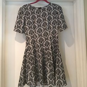 Fashion Union Dresses & Skirts - Black and White Dress