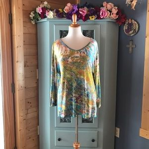 Maurices Tops - Stylish Blouse with Gorgeous Colors!