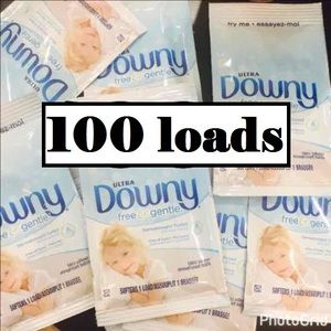 Other - 100x ULTRA DOWNY FREE GENTLE FABRIC SOFTENER