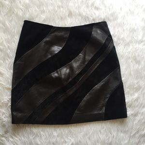 Cache Dresses & Skirts - Cache leather skirt