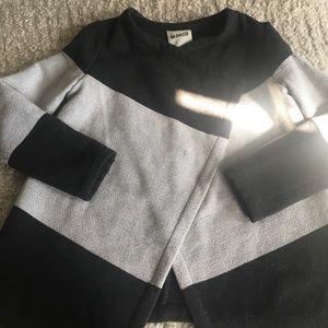 BB Dakota Jackets & Blazers - BB Dakota Wide Stripe Oversized Cardigan