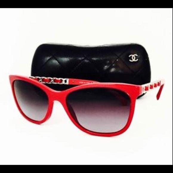 152c8306b2 CHANEL Sunglasses Model 5260Q Color 1343 Red