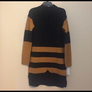 Hunter Original Half Stripe Wool Sweater Dress