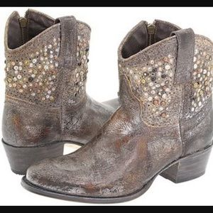 44406ade5ea7 Frye Shoes - Frye Deborah Studded Ankle Boot