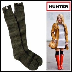 Hunter Boots Accessories - ❗1-HOUR SALE❗HUNTER ORIGINAL Tall Ribbed BootSocks