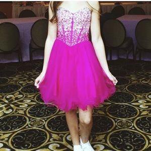 Sally Miller Dresses & Skirts - pretty pink prom dress