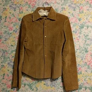 Jackets & Blazers - Authentic Vintage Suede Jacket