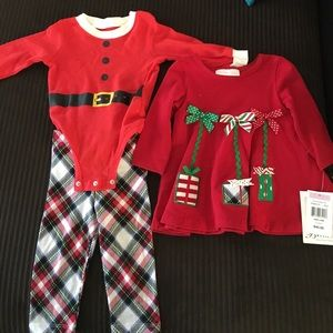 Bonnie Baby Other - Baby Christmas outfit