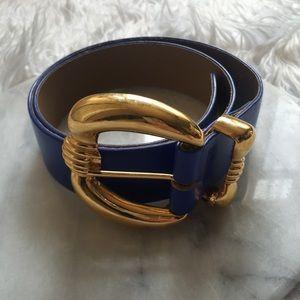 St. John Accessories - St. John blue belt
