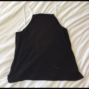 LF white and black tank top