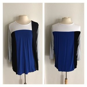 Grace Tops - FREE WITH PURCHASE! Grace colorblock top