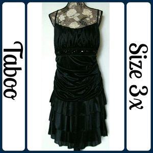 Taboo Dresses & Skirts - Sz 3x LBD TABOO BLACK DRESS COCKTAIL EVENING PROM
