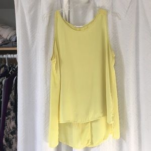 Open back Lush top
