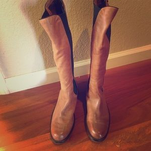 Vince camuto size 7 leather boots