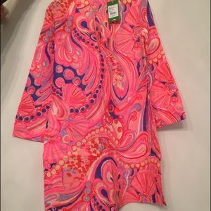 Lilly Pulitzer Marco Island Tunic in Reef Retreat