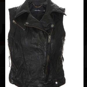 "Muubaa Jackets & Blazers - Muubaa ""Cassidy'"" Biker Moto Leather Vest US 6"