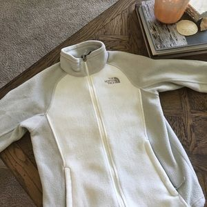 North Face Sweaters - North Face fleece zip-up